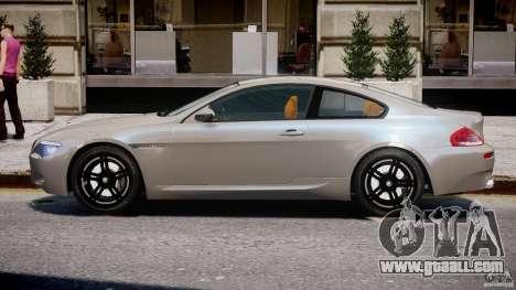 BMW M6 G-Power Hurricane for GTA 4 back left view
