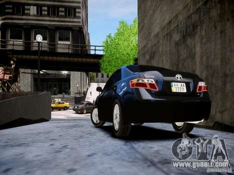Toyota Camry for GTA 4 left view