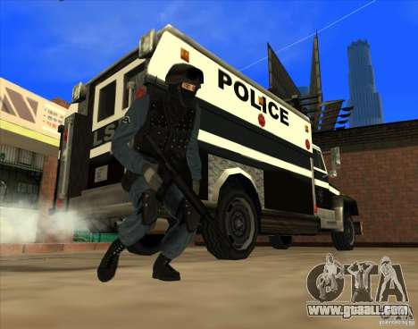 Los Angeles S.W.A.T. Skin for GTA San Andreas forth screenshot