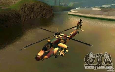 Hunter Armee Look for GTA San Andreas