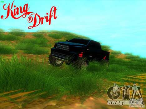 Toyota Tundra OFF Road Tuning for GTA San Andreas
