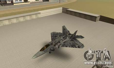 F-22 Starscream for GTA San Andreas