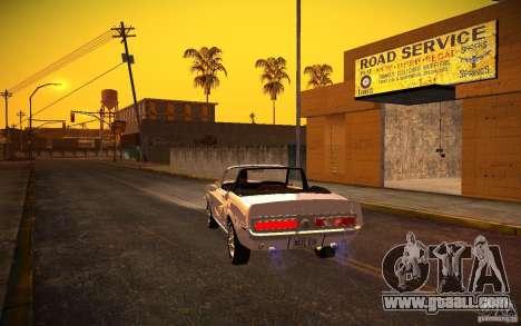 ENBSeries v1.0 By GAZelist for GTA San Andreas sixth screenshot