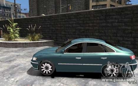 Hyundai Azera 2008 for GTA 4 left view