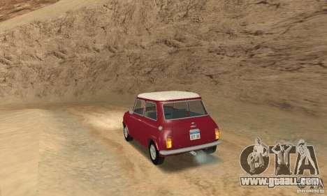 Mini Cooper S for GTA San Andreas left view