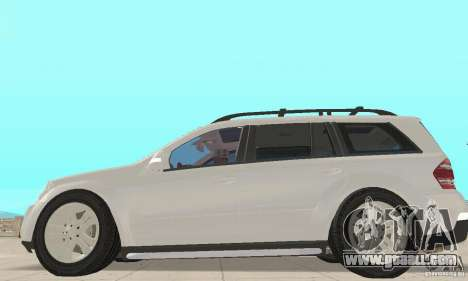 Mercedes-Benz GL450 for GTA San Andreas back left view