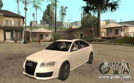 Audi RS6 2009 for GTA San Andreas