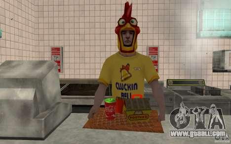Cafe Rostics for GTA San Andreas forth screenshot