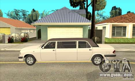 GAZ 3110 Sedan for GTA San Andreas left view