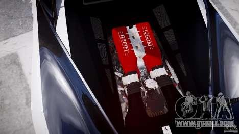 Ferrari 458 Italia - Brazilian Police [ELS] for GTA 4 bottom view