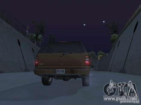 Chevrolet Suburban 2003 for GTA San Andreas engine