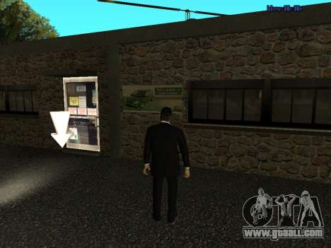 HD Autoschool  v1.0 for GTA San Andreas