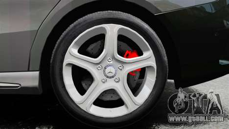 Mercedes-Benz CLA 250 2014 for GTA 4 inner view