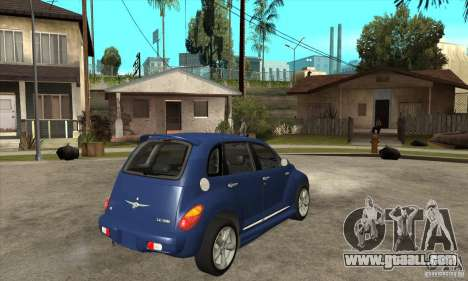 Chrysler PT Cruiser GT 2004 for GTA San Andreas right view