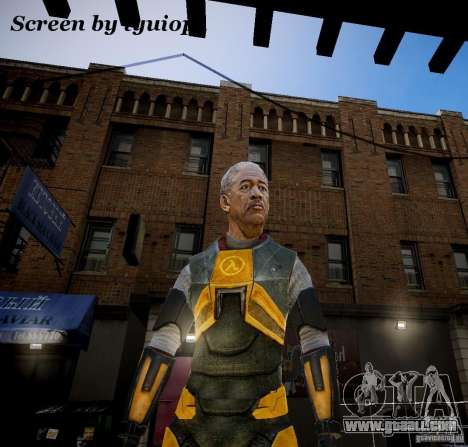 Morgan Freeman for GTA 4