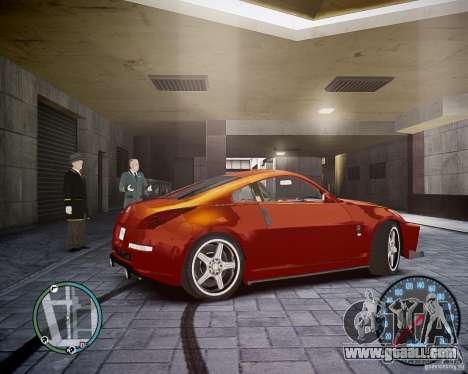 Nissan 350Z Z33 for GTA 4 right view