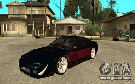 Nissan 180SX - Koguchi Power for GTA San Andreas