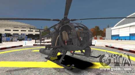 New AH-6 Little Bird for GTA 4