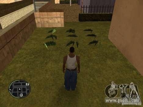 Marijuana v2 for GTA San Andreas forth screenshot