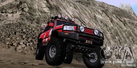 Toyota Land Cruiser 100 Off-Road for GTA San Andreas right view