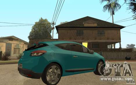 Renault Megane 3 Coupe for GTA San Andreas right view