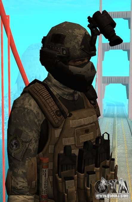 USA Army Special Forces (FIXED) for GTA San Andreas
