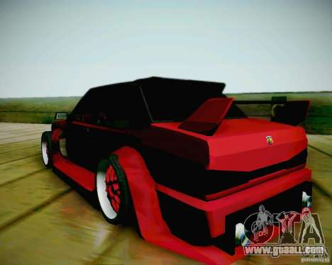Tofas Dogan SLX DRIFT for GTA San Andreas left view