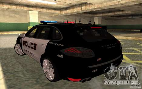 Porsche Cayenne Turbo 958 Seacrest Police for GTA San Andreas left view