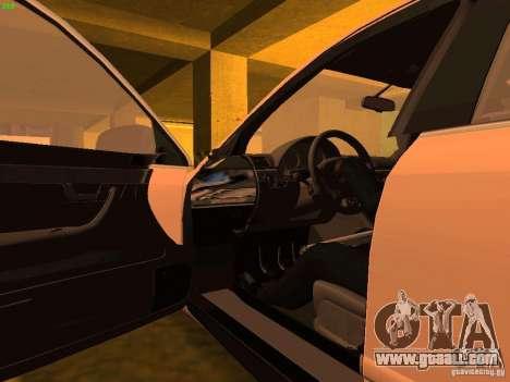 Audi S4 OEM for GTA San Andreas upper view