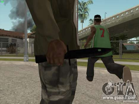 Knife for GTA San Andreas second screenshot