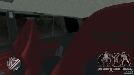 VAZ 2104 Tuning for GTA 4 interior