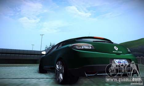 Renault Megane Coupe for GTA San Andreas inner view