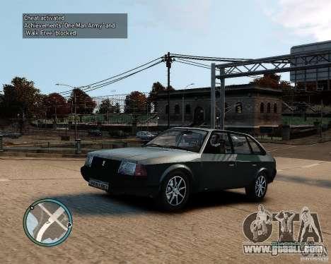 AZLK Moskvich 2141 for GTA 4