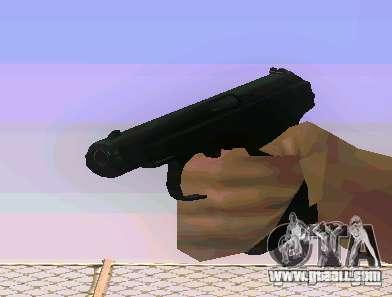 Weapon Pack v 5.0 for GTA San Andreas third screenshot