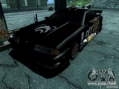 Vinyl big Lou of Most Wanted for GTA San Andreas back left view