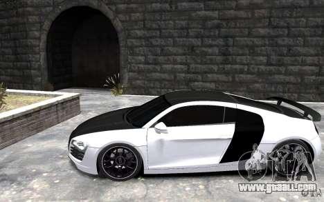 Audi R8 2008 Beta for GTA 4 left view