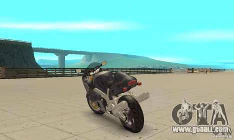 Suzuki GSX1300R Hayabusa for GTA San Andreas back left view
