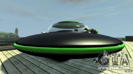 UFO neon ufo green for GTA 4