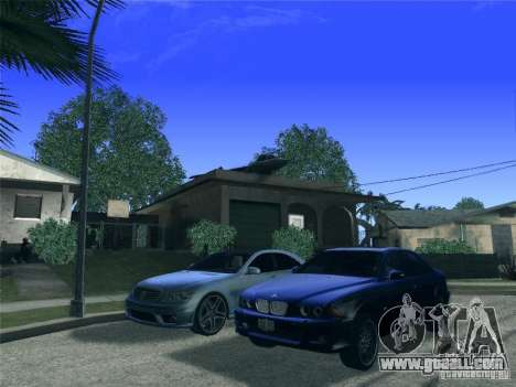 BMW M5 E39 2003 for GTA San Andreas side view
