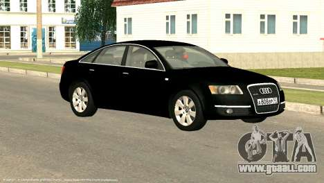 Audi A6 for GTA San Andreas side view