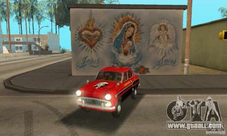 Moskvich 407 1958 for GTA San Andreas inner view