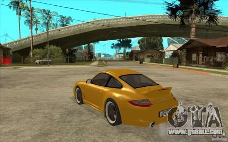 Porsche 911 Sport Classic for GTA San Andreas back left view