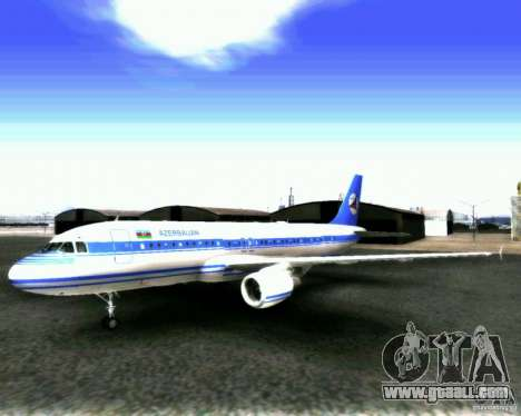 Airbus A-320 Azerbaijan Airlines for GTA San Andreas