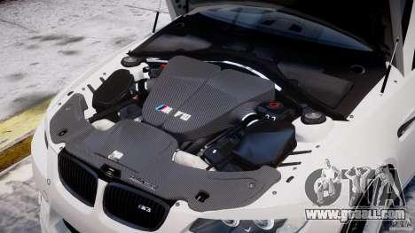 BMW M3 Hamann E92 for GTA 4 interior