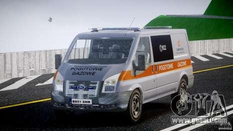 Ford Transit Usluga polski gazu [ELS] for GTA 4