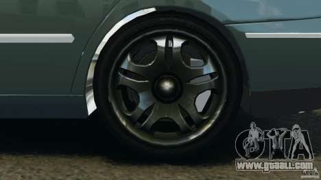Hyundai Azera for GTA 4 back view