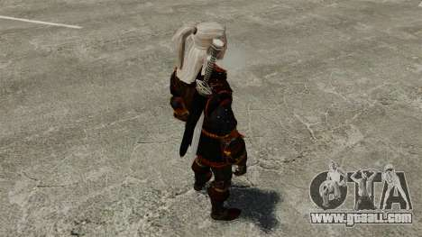Geralt of Rivia v4 for GTA 4 forth screenshot