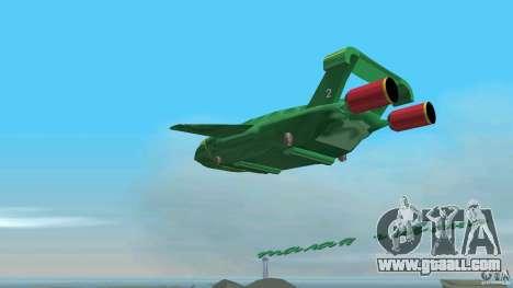 ThunderBird 2 for GTA Vice City inner view