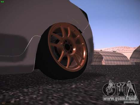 Vauxhall Astra VXR Tuned for GTA San Andreas right view