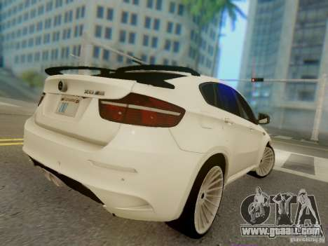 BMW X6 Hamann for GTA San Andreas side view